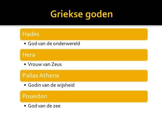 griekse goden 2