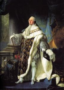 Lodewijk de 16e, koning van Frankrijk. Geboren in 1754 en gestorven in 1793 (onthoofd).