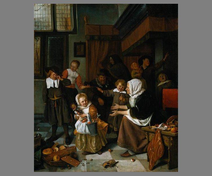 Sint Nicolaasfeest Rijksmuseum.Het Sint Nicolaasfeest Digitaal Klaslokaal