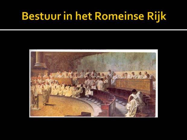 bestuur in het romeinse rijk