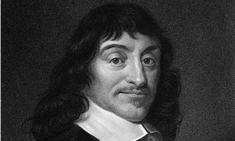René Descartes, 31 maart 1596 - 11 februari 1650. Een Franse filosoof, bekend van: 'Ik denk, dus ik besta'.
