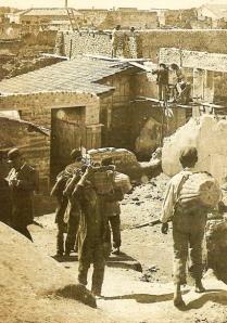 Archeologen zijn bezig met de opgraving van de stad