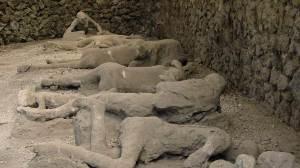 Lichamen in Pompeii