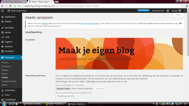Maak je eigen blog 8