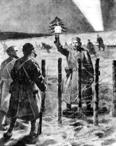 Kerstmis tijdens de eerste wereldoorlog