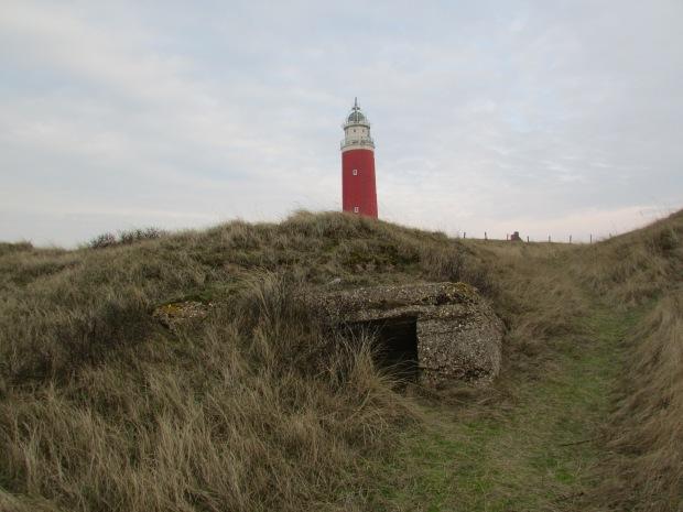 Bunkers bij de Vuurtoren van de Cocksdorp, Texel