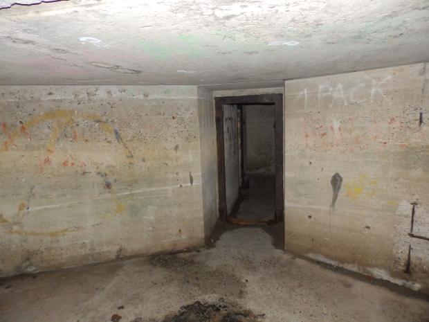 Binnenkant Bunker Texel 4