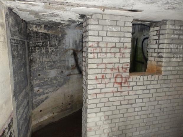 Binnenkant Bunker Texel 1