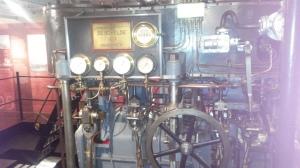 Stoommachine schip
