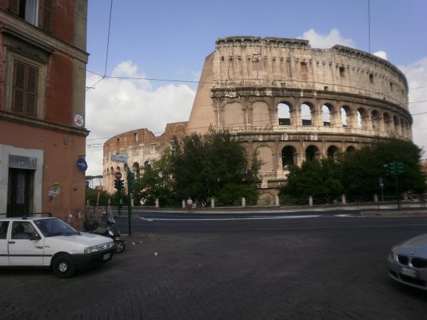 Colosseum Rome. Foto. M. Zijm, juli 2010