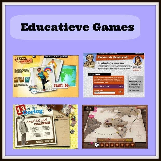 educatieve spelletjes