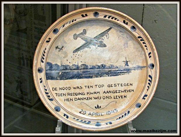 Foto: M. Zijm, gemaakt in het luchtvaartmuseum op Texel