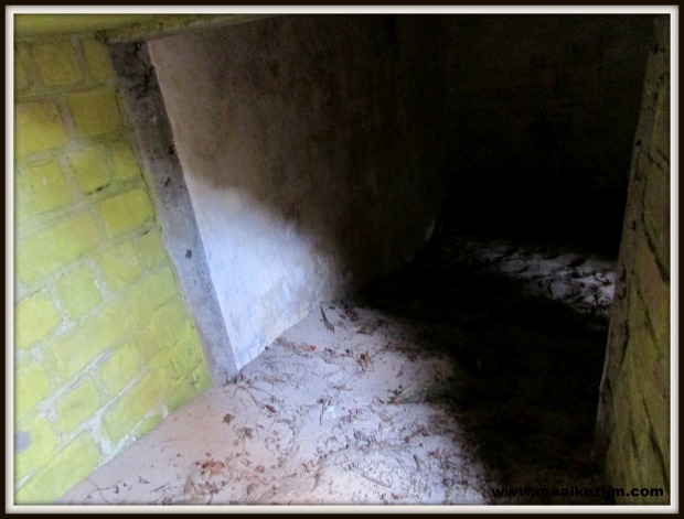 Binnenkant bunker