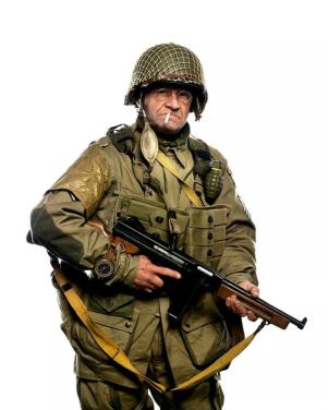Dit is Jim Martin, hij is nu 93 jaar oud. Hij gaat net als 70 jaar geleden tijdens D-Day een parachute sprong bij Normandië maken.  Bekijk het hele artikel op, inclusief zijn verslag over zijn 2e parachute sprong op: http://sploid.gizmodo.com/93-year-old-d-day-vet-just-recreated-his-jump-from-a-pl-1586902391/+caseychan?utm_source=feedburner&utm_medium=feed&utm_campaign=Feed%3A+gizmodo%2Ffull+%28Gizmodo%29
