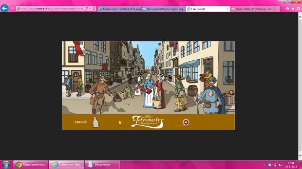 Screenshot lakenmarkt van Den Bosch
