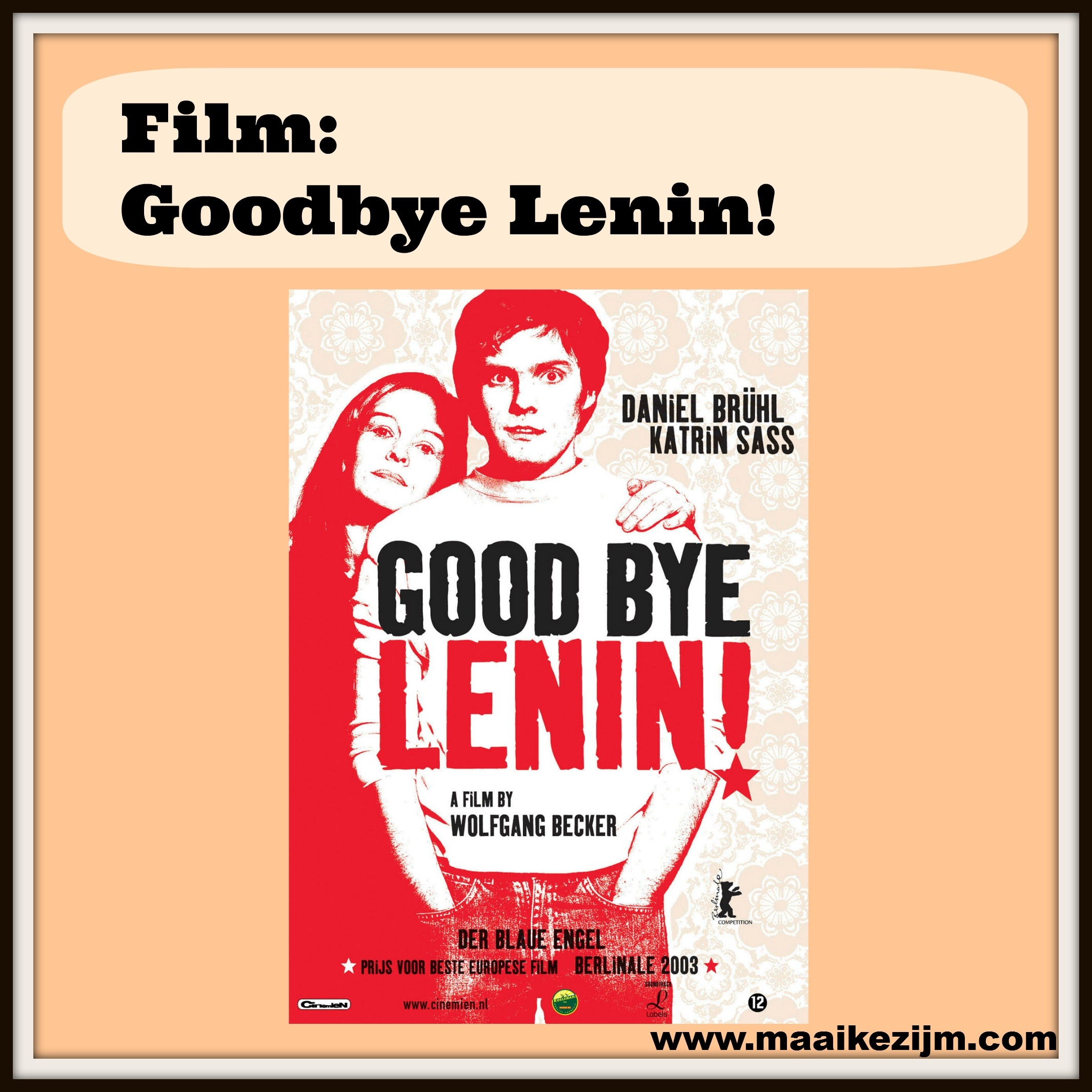 goodbye lenin Directed by wolfgang becker with daniel brühl, katrin saß, chulpan khamatova, florian lukas in 1990, to protect his fragile mother from a fatal shock.