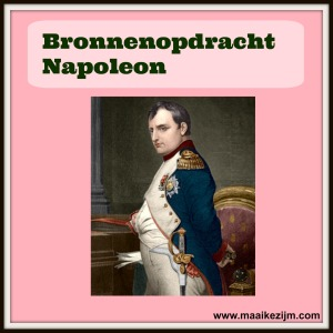 bronnenopdracht napoleon