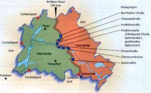Oost en West Berlijn