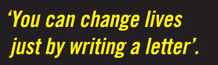 Afbeeldingsresultaat voor amnesty international schrijfmarathon