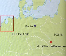 Waar ligt Auschwitz?