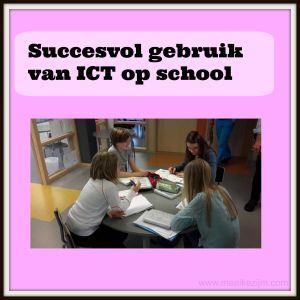 Succesvol gebruik van ICT op school