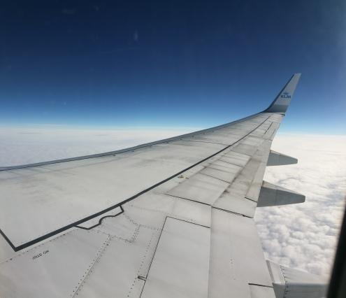 Ik was vreselijk zenuwachtig om 'alleen' te vliegen. Ik ga wel vaker alleen op pad, maar vliegen is toch wel iets anders voor iemand met een lichte vorm van vliegangst zoals ik.. Toch is dit wel goed geweest voor mij denk ik: ik ben veel minder bang om te vliegen! :)
